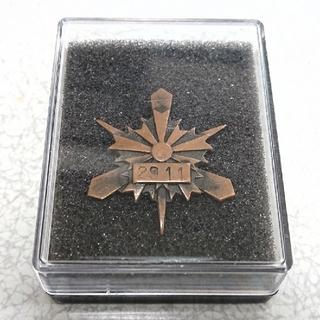 京都市  警察  バッジ   記章   階級章(襟章)