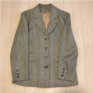 エディットフォールル(EDIT.FOR LULU)のチェックジャケット tahlia store vintage(テーラードジャケット)