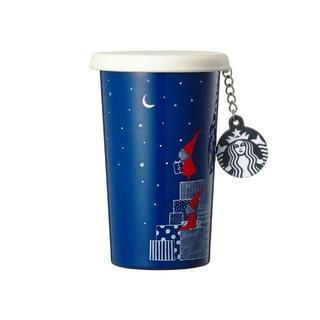 スターバックスコーヒー(Starbucks Coffee)のスターバックス★SS サンタ ギフト チャーム タンブラー /韓国(タンブラー)