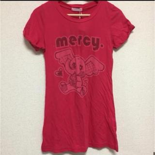 マーシー(mercy.)の新品 mercy.アップルTシャツ フリーサイズ 部屋着 ぞう ロデオクラウン(Tシャツ(半袖/袖なし))