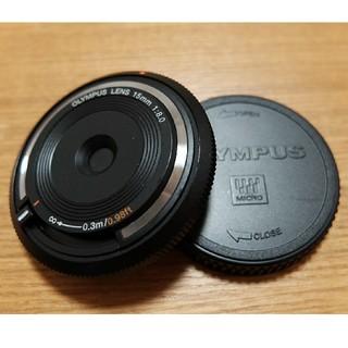 オリンパス(OLYMPUS)のオリンパス キャップレンズ BCL-1580 15mm F8.0 中古良品クラス(レンズ(単焦点))