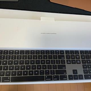 マック(Mac (Apple))のApple Magic Keyboard スペースグレー(テンキー付きUS配列)(PC周辺機器)