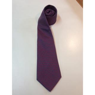 アルマーニ コレツィオーニ(ARMANI COLLEZIONI)のアルマーニ ネクタイ 赤紫 美品(ネクタイ)