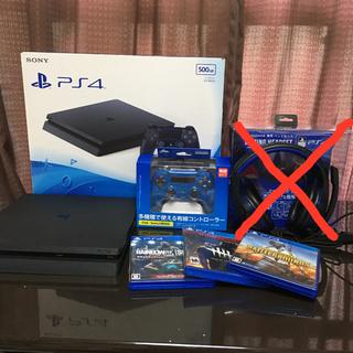 プレイステーション4(PlayStation4)のもも様専用 取り置き〜4/20(月)まで(家庭用ゲーム機本体)
