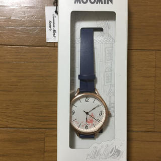 サマンサモスモス(SM2)のしおり様専用  ムーミンベーシックレザーウォッチ(腕時計)