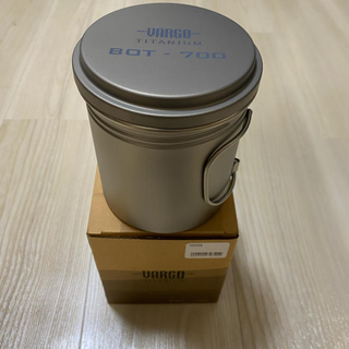 モンベル(mont bell)の<バーゴ> チタニウムボット700 <VARGO>(調理器具)