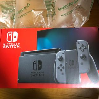 ニンテンドースイッチ(Nintendo Switch)の任天堂スイッチ グレー 本体(家庭用ゲーム機本体)
