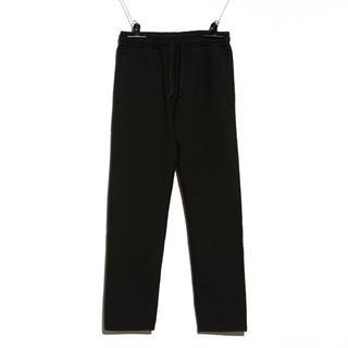 ピースマイナスワン(PEACEMINUSONE)のPEACEMINUSONE SWEAT PANTS #1 BLACK(スラックス)