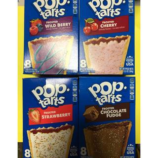 アメリカの定番輸入菓子POPtarts4種8枚新品(菓子/デザート)