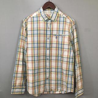 マンシングウェア(Munsingwear)のマンシングウェア ペンギン 長袖シャツ ウェスタンシャツ チェック柄 ゴルフ(ウエア)