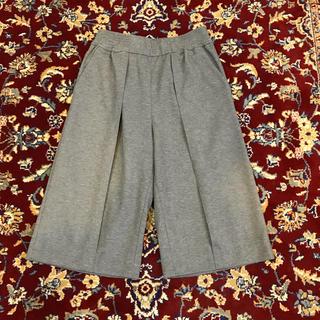 ジョンローレンスサリバン(JOHN LAWRENCE SULLIVAN)のARCHIVE JLS center-crease wide shorts(ショートパンツ)