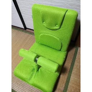 ミズノ(MIZUNO)のミズノ/MIZUNO じつは腹筋くん 座椅子  グリーン(エクササイズ用品)
