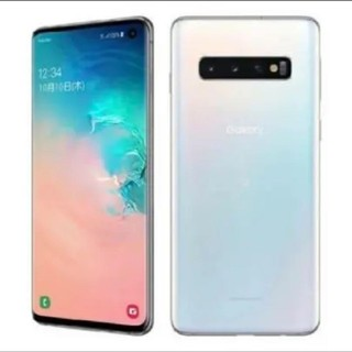 yu1709様専用 Galaxy S10 本体 プリズムホワイト(スマートフォン本体)