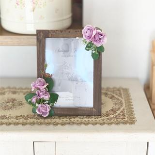 母の日ギフト お花の写真立て (その他)