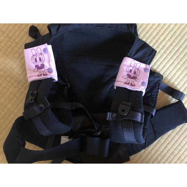 抱っこ紐ヨダレカバー 2枚1セット キッズ/ベビー/マタニティのこども用ファッション小物(ベビースタイ/よだれかけ)の商品写真