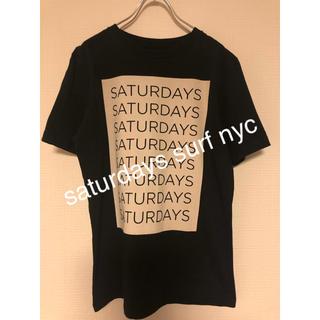 サタデーズサーフニューヨークシティー(SATURDAYS SURF NYC)のSATURDAYS SURF NYC  BOXロゴ Tシャツ(Tシャツ/カットソー(半袖/袖なし))