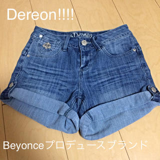 デレオン(Dereon)のDereon ショートデニム(ショートパンツ)
