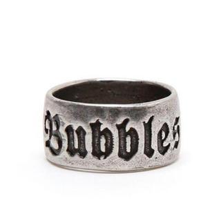 バブルス(Bubbles)の Bubbles リング ロゴ(リング(指輪))