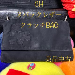 クロムハーツ(Chrome Hearts)のクロムハーツ ヌバックレザー クラッチバッグ(セカンドバッグ/クラッチバッグ)