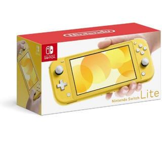 ニンテンドースイッチ(Nintendo Switch)のSwitch ライト イエロー(家庭用ゲーム機本体)