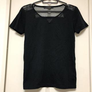 スピンズ(SPINNS)のjaniss シースルー シアーTシャツ(Tシャツ(半袖/袖なし))