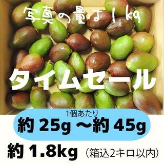 [セール:青]約1.8キロ グリーンマンゴー 青マンゴー 加工用 マンゴー(フルーツ)