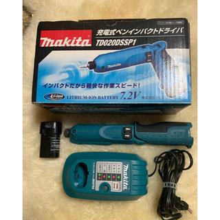 マキタ(Makita)のマキタ ペン型インパクトドライバー 美品(工具)