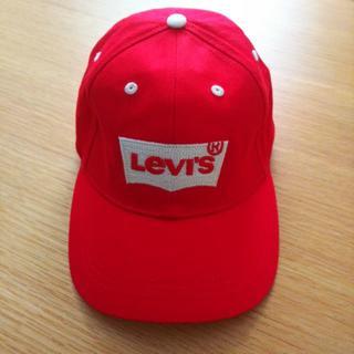 リーバイス(Levi's)の[レア] LEVIS Cap Red(キャップ)