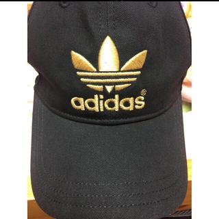 アディダス(adidas)のM様専用 adidas 黒ゴールド(キャップ)