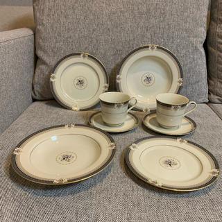 食器セット コーヒーカップ&ソーサー ケーキ皿 深皿
