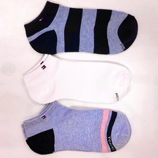 トミーヒルフィガー(TOMMY HILFIGER)の新品・未使用TOMMY HILFIGER レディース靴下×3足セット(ソックス)