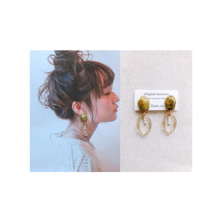 リリーブラウン(Lily Brown)のhandmade  *  earring / pierce(イヤリング)