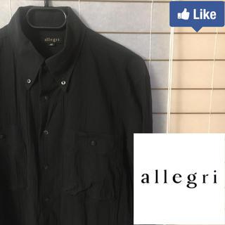 アレグリ(allegri)の【値下げ交渉可】アレグリ allegri メンズ シャツ L 48(シャツ)