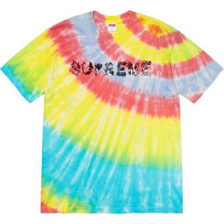シュプリーム(Supreme)の【M】supreme Morph Tee Tie Dye シュプリーム(Tシャツ/カットソー(半袖/袖なし))