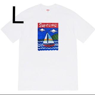 シュプリーム(Supreme)のsupreme sailboat tee 白 L シュプリーム(Tシャツ/カットソー(半袖/袖なし))
