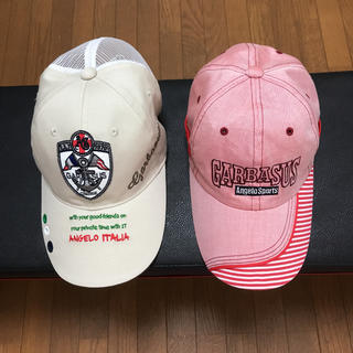 アンジェロガルバス(ANGELO GARBASUS)の【新品】アンジョロガルバスの帽子(キャップ)