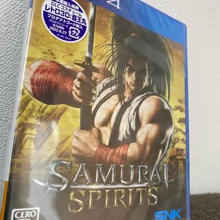 エスエヌケイ(SNK)の【PS4】サムライスピリッツ SAMURAI SPIRITS 新品未開封(家庭用ゲームソフト)