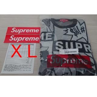 シュプリーム(Supreme)のsupreme Cartoon Sweater  シュプリーム ニット XL(ニット/セーター)