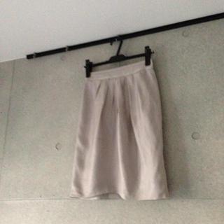 インディヴィ(INDIVI)のINDIVI☆ラメスカート♪(ひざ丈スカート)