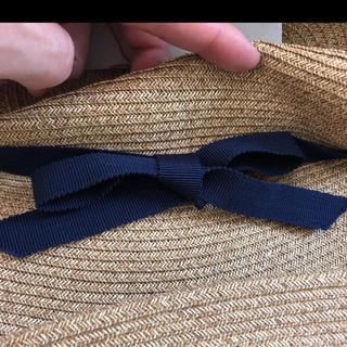 ネストローブ(nest Robe)のマチュアーハ 麦わら帽子(麦わら帽子/ストローハット)