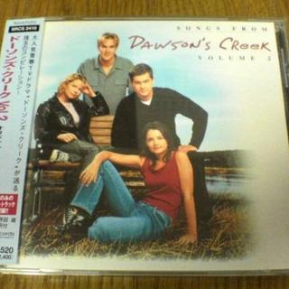 海外ドラマサントラCD「ドーソンズクリーク Vol.2」●(テレビドラマサントラ)
