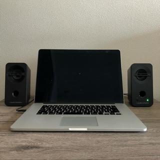 オーディオテクニカ(audio-technica)のat-sp93 アクティブスピーカー ※macは付きません(スピーカー)