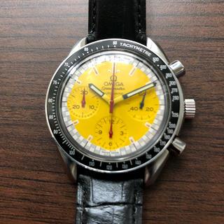 オメガ(OMEGA)のGW明けまで専用者様あり オメガ スピードマスタークロノ シューマッハモデル限定(腕時計(アナログ))