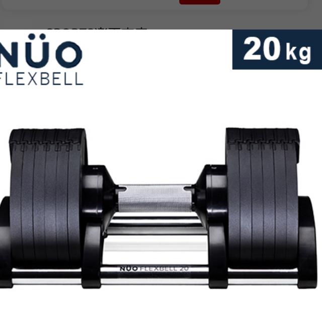 ダンベル20キロ スポーツ/アウトドアのトレーニング/エクササイズ(トレーニング用品)の商品写真