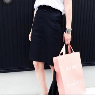 ハイク(HYKE)の美品⭐️定価31,500円 ハイクマリンスカート (ひざ丈スカート)