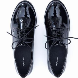 メルロー(merlot)の【merlot plus】オックスフォードシューズ エナメル レディース(ローファー/革靴)