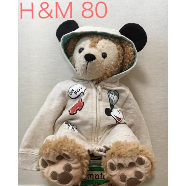 H&M(エイチアンドエム)のジャンバー mickey キッズ/ベビー/マタニティのベビー服(~85cm)(その他)の商品写真