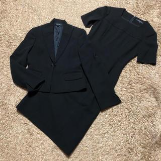 ミッシェルクラン(MICHEL KLEIN)の値下げ交渉OK ミッシェルクラン シングル ワンピーススーツ Mサイズ ブラック(スーツ)