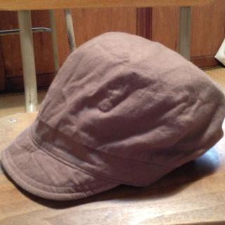 ムジルシリョウヒン(MUJI (無印良品))のリバーシブル帽子555円→350(キャスケット)