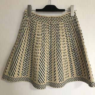 ビーシービージーマックスアズリア(BCBGMAXAZRIA)のBCBG  柄物スカート(ミニスカート)